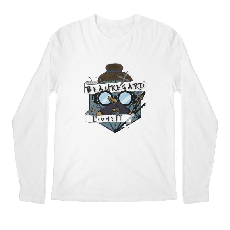 Beauregard Lionett Men's Longsleeve T-Shirt by RandomEncounterProductions's Artist Shop