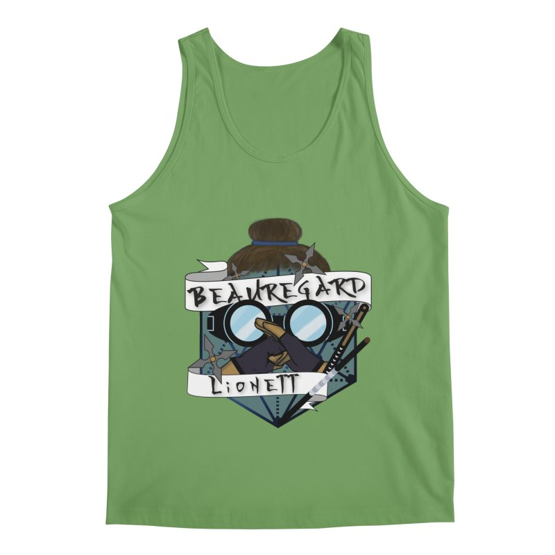 Beauregard Lionett Men's Tank by RandomEncounterProductions's Artist Shop