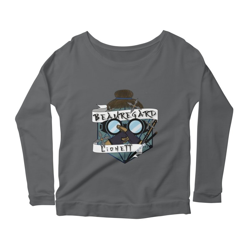 Beauregard Lionett Women's Longsleeve T-Shirt by RandomEncounterProductions's Artist Shop
