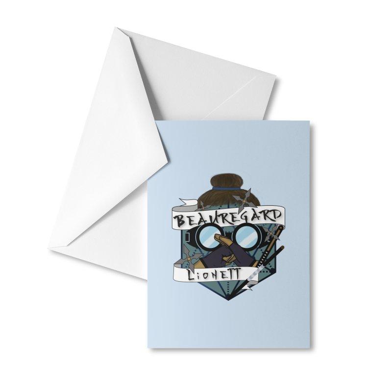 Beauregard Lionett Accessories Greeting Card by RandomEncounterProductions's Artist Shop