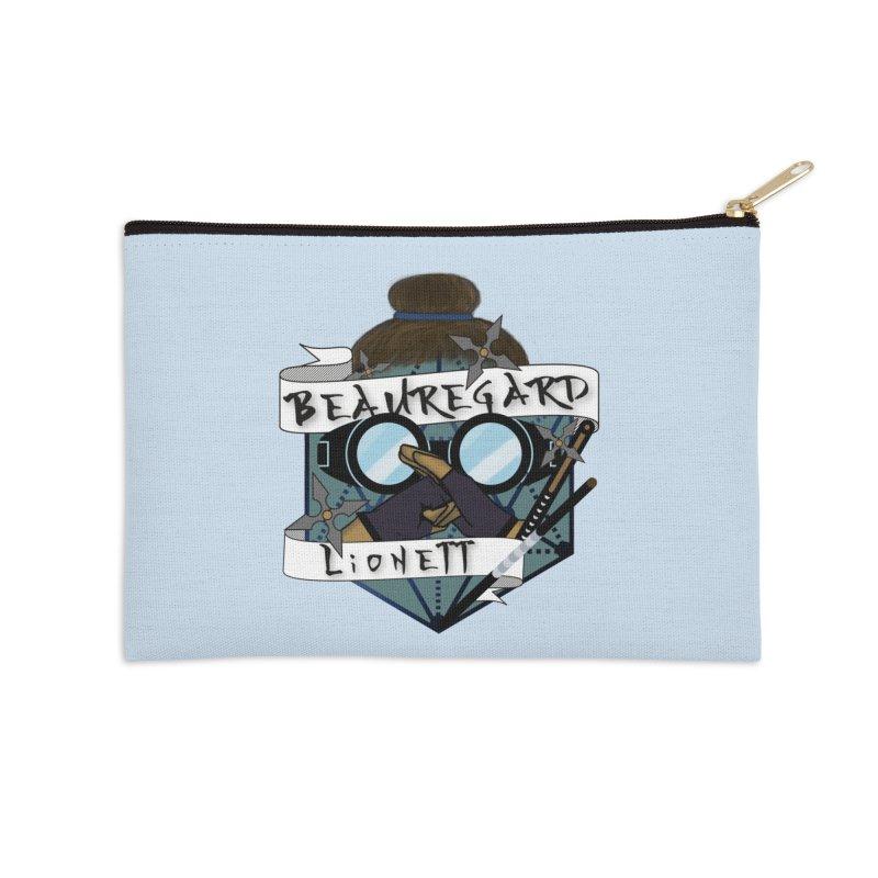 Beauregard Lionett Accessories Zip Pouch by RandomEncounterProductions's Artist Shop