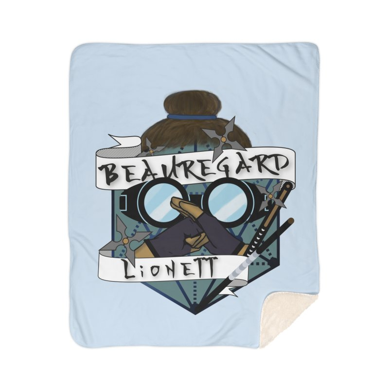 Beauregard Lionett Home Blanket by RandomEncounterProductions's Artist Shop
