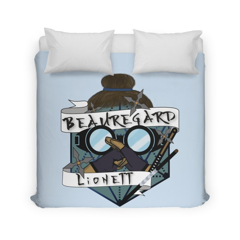 Beauregard Lionett Home Duvet by RandomEncounterProductions's Artist Shop