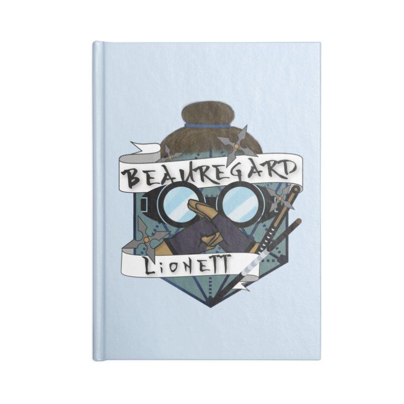 Beauregard Lionett Accessories Notebook by RandomEncounterProductions's Artist Shop