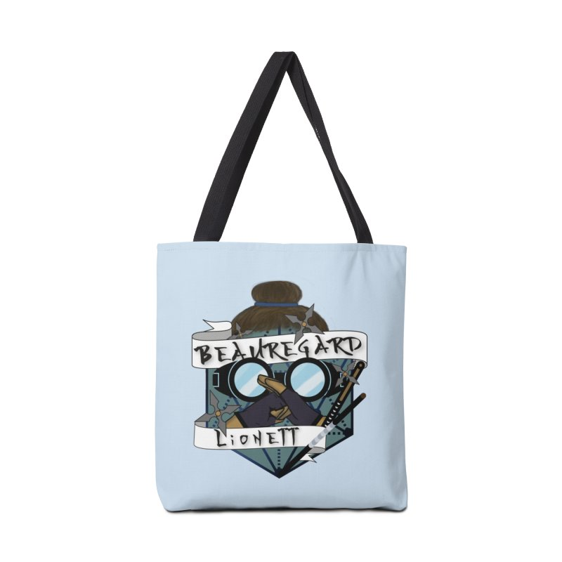 Beauregard Lionett Accessories Bag by RandomEncounterProductions's Artist Shop