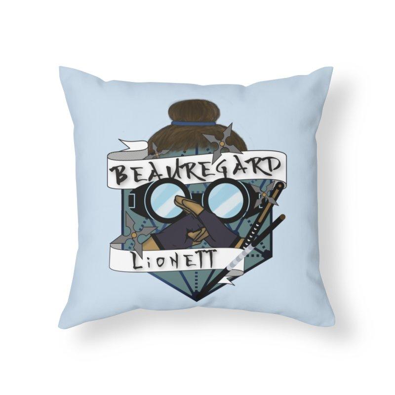 Beauregard Lionett Home Throw Pillow by RandomEncounterProductions's Artist Shop