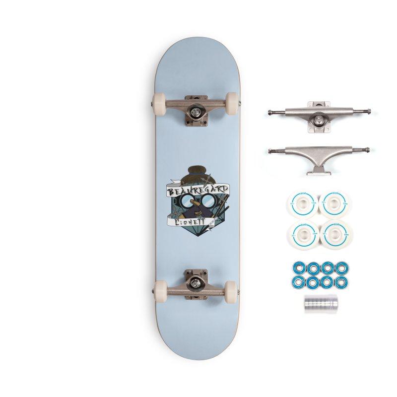 Beauregard Lionett Accessories Skateboard by RandomEncounterProductions's Artist Shop