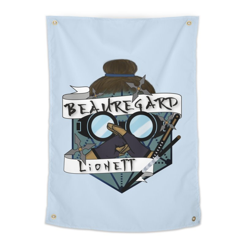 Beauregard Lionett Home Tapestry by RandomEncounterProductions's Artist Shop