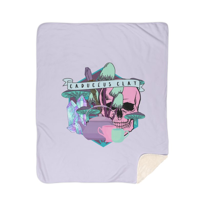 Caduceus Clay Home Blanket by RandomEncounterProductions's Artist Shop