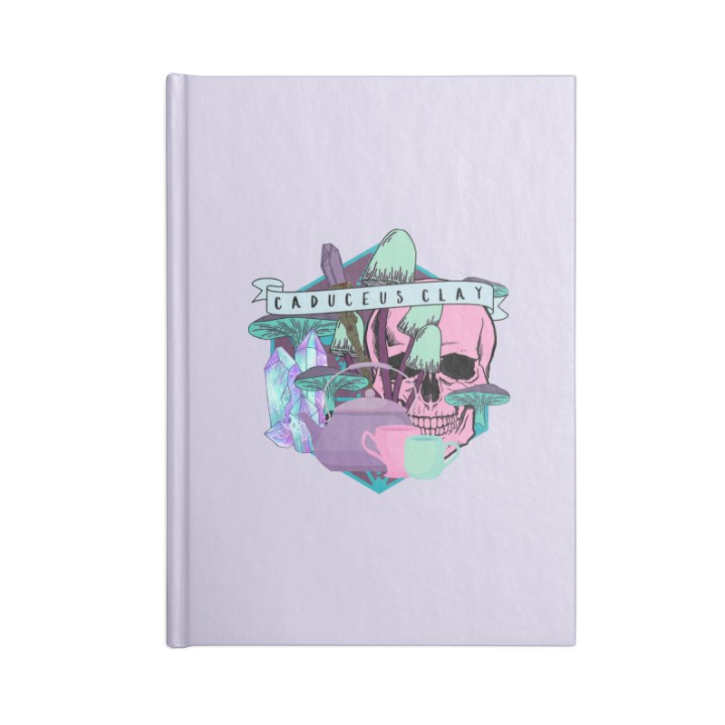 Caduceus Clay Accessories Notebook by RandomEncounterProductions's Artist Shop