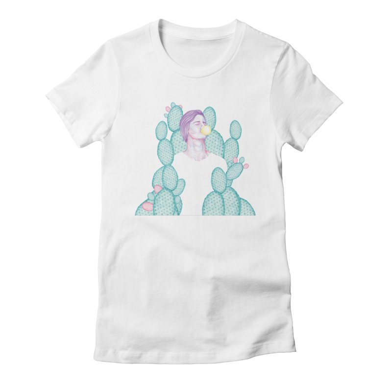 Dilka Women's Fitted T-Shirt by Ranggasme's Artist Shop