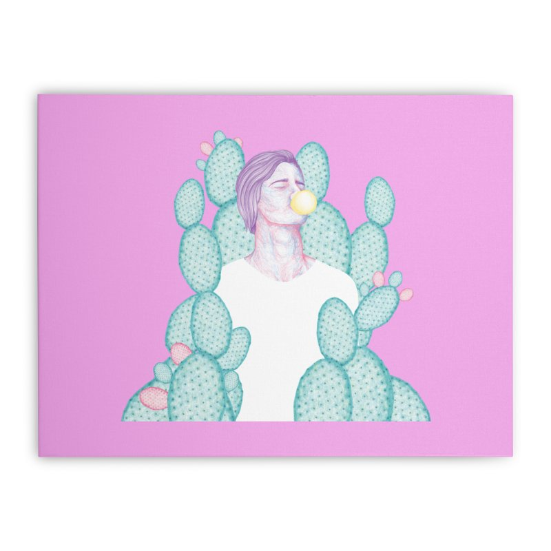 Dilka Home Stretched Canvas by Ranggasme's Artist Shop