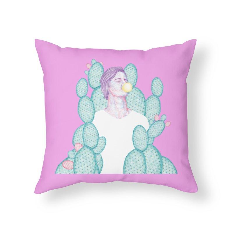 Dilka Home Throw Pillow by Ranggasme's Artist Shop