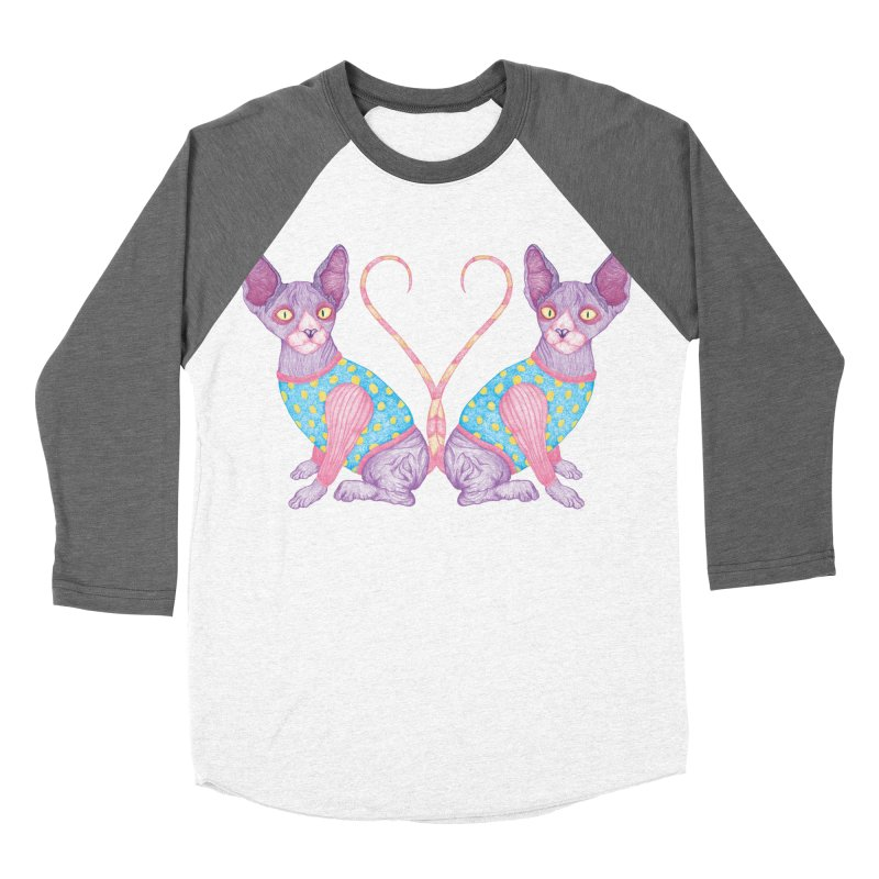 Clowncat Women's Baseball Triblend T-Shirt by Ranggasme's Artist Shop