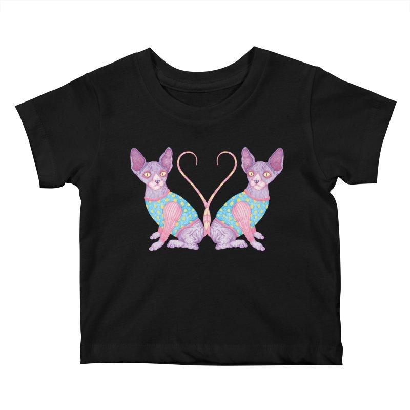 Clowncat Kids Baby T-Shirt by Ranggasme's Artist Shop