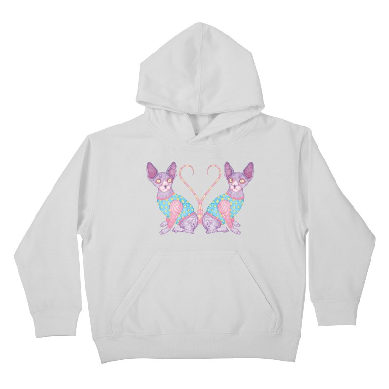 Clowncat Kids Pullover Hoody by Ranggasme's Artist Shop