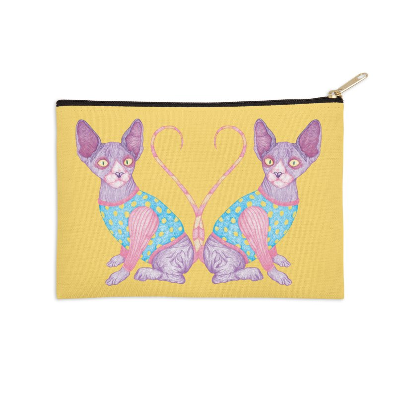 Clowncat Accessories Zip Pouch by Ranggasme's Artist Shop