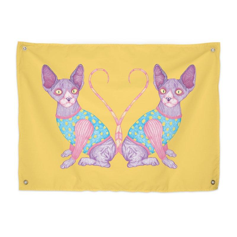 Clowncat Home Tapestry by Ranggasme's Artist Shop