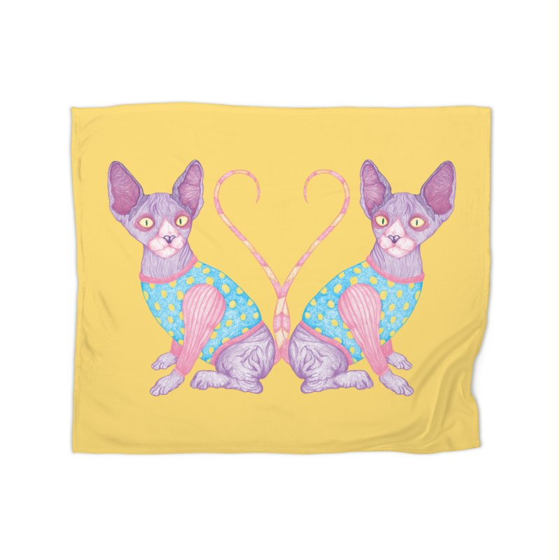 Clowncat Home Blanket by Ranggasme's Artist Shop