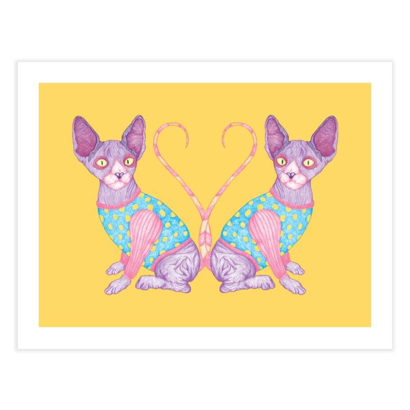 Clowncat Home Fine Art Print by Ranggasme's Artist Shop