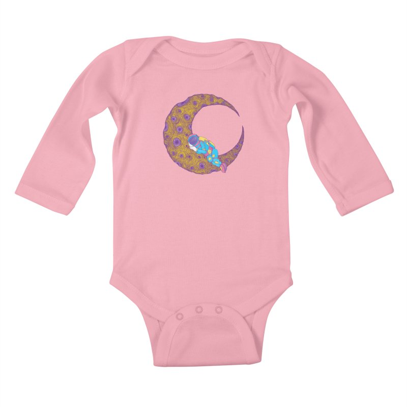 The Science of Sleep Kids Baby Longsleeve Bodysuit by Ranggasme's Artist Shop