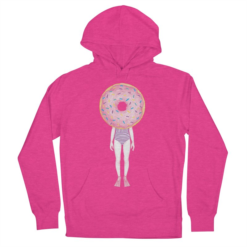 The Summer Treats: Pool Party Doughtnut  Men's Pullover Hoody by Ranggasme's Artist Shop