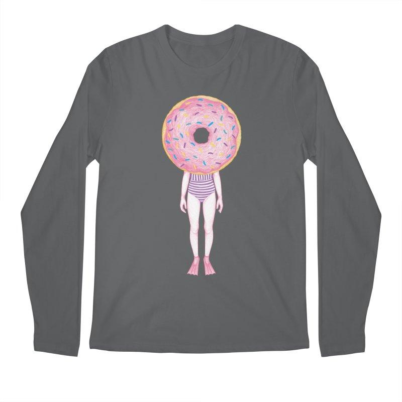 The Summer Treats: Pool Party Doughtnut  Men's Longsleeve T-Shirt by Ranggasme's Artist Shop