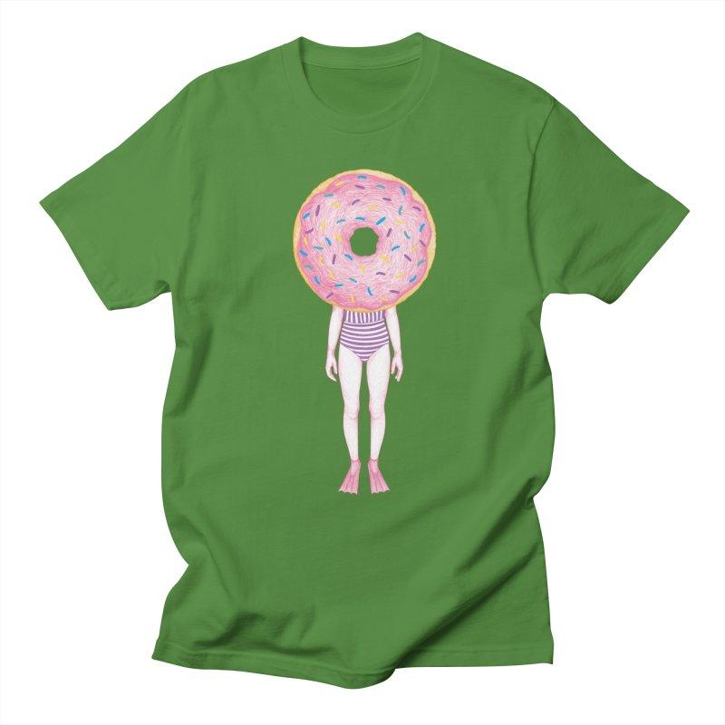 The Summer Treats: Pool Party Doughtnut  Women's Unisex T-Shirt by Ranggasme's Artist Shop