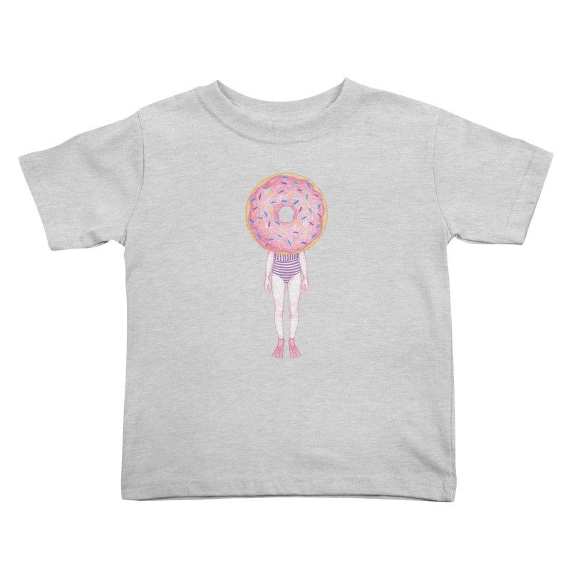 The Summer Treats: Pool Party Doughtnut  Kids Toddler T-Shirt by Ranggasme's Artist Shop
