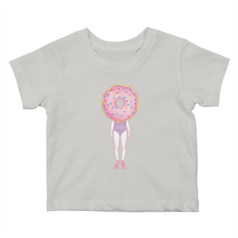 The Summer Treats: Pool Party Doughtnut  Kids Baby T-Shirt by Ranggasme's Artist Shop