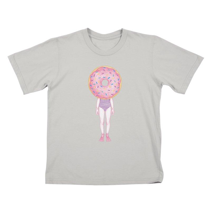 The Summer Treats: Pool Party Doughtnut  Kids T-shirt by Ranggasme's Artist Shop