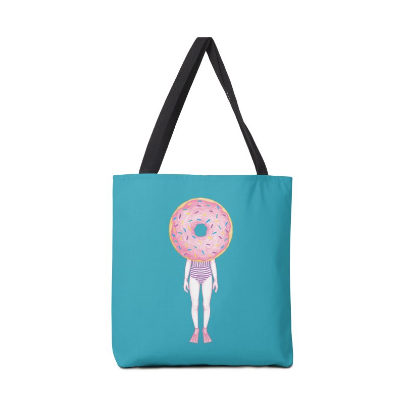 The Summer Treats: Pool Party Doughtnut  Accessories Bag by Ranggasme's Artist Shop