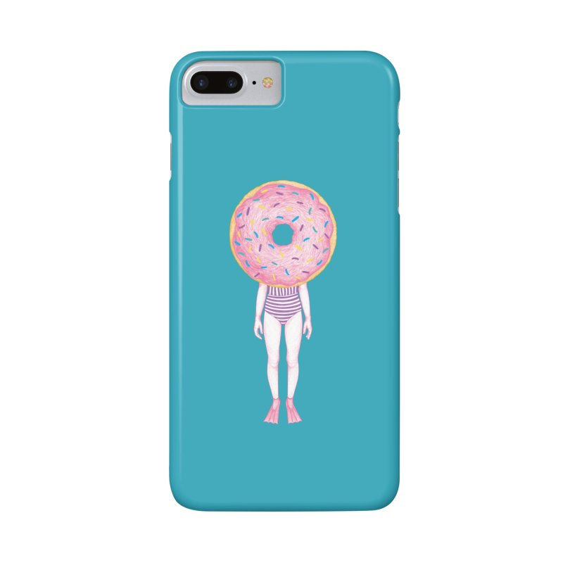 The Summer Treats: Pool Party Doughtnut  Accessories Phone Case by Ranggasme's Artist Shop