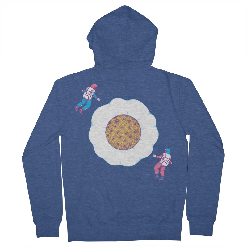 Moon Yolk Women's Zip-Up Hoody by Ranggasme's Artist Shop