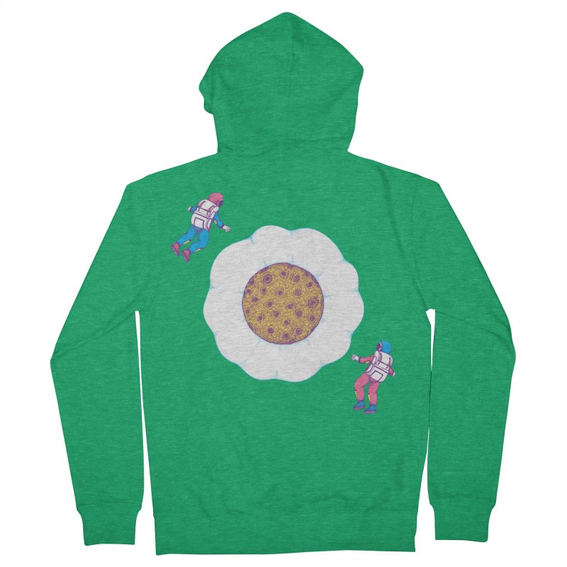 Moon Yolk Men's Zip-Up Hoody by Ranggasme's Artist Shop