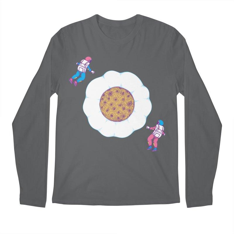 Moon Yolk Men's Longsleeve T-Shirt by Ranggasme's Artist Shop