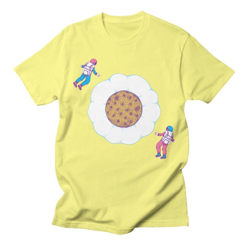 Moon Yolk Men's T-shirt by Ranggasme's Artist Shop