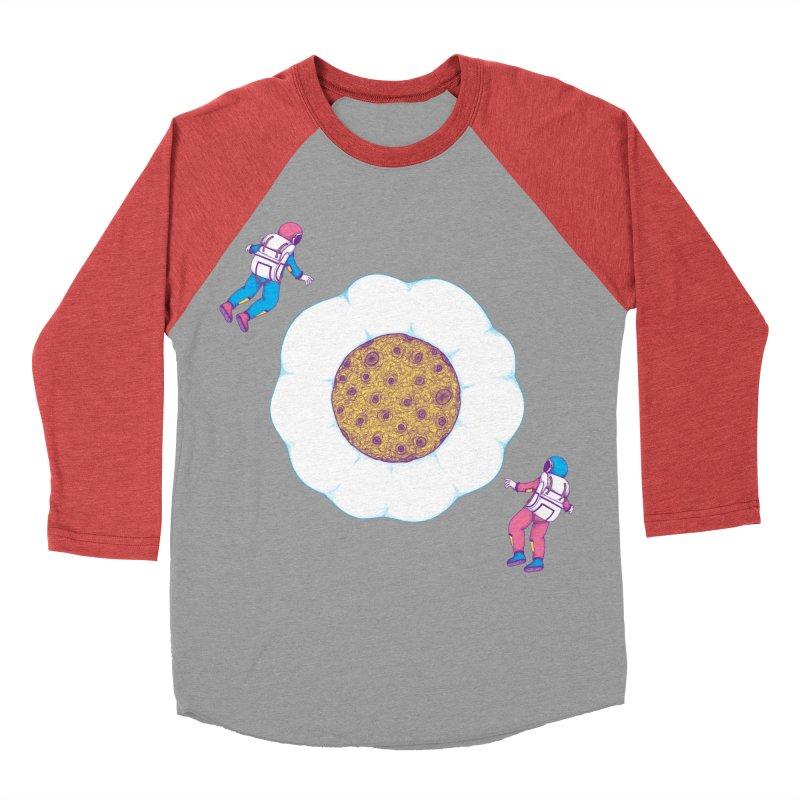 Moon Yolk Women's Baseball Triblend T-Shirt by Ranggasme's Artist Shop