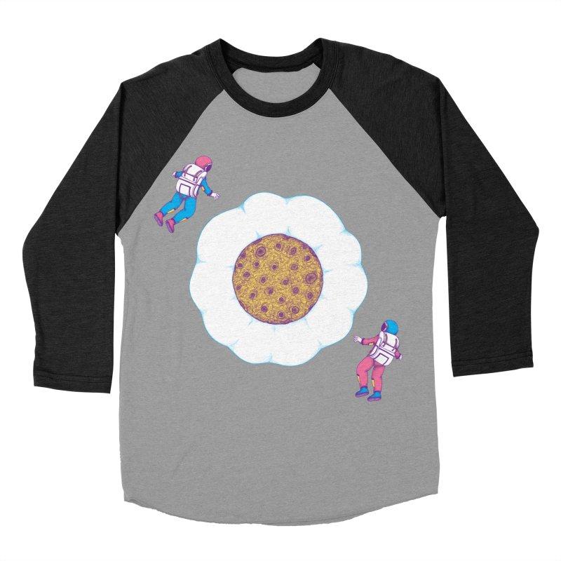 Moon Yolk Men's Baseball Triblend T-Shirt by Ranggasme's Artist Shop