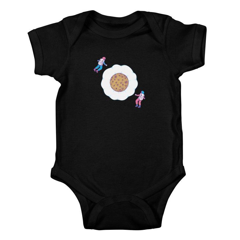 Moon Yolk Kids Baby Bodysuit by Ranggasme's Artist Shop