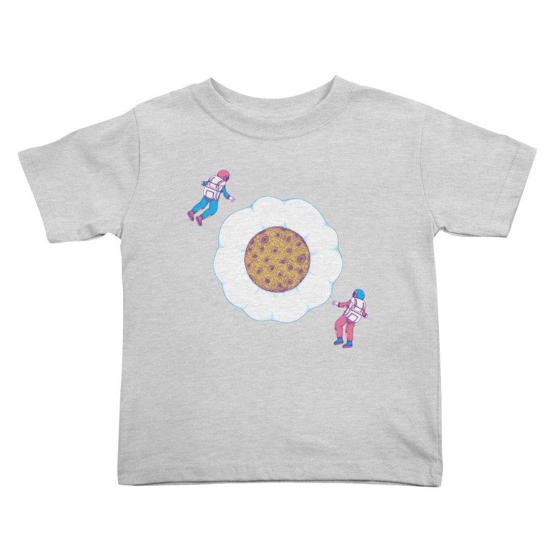 Moon Yolk Kids Toddler T-Shirt by Ranggasme's Artist Shop