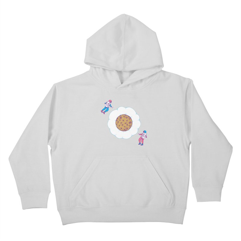 Moon Yolk Kids Pullover Hoody by Ranggasme's Artist Shop