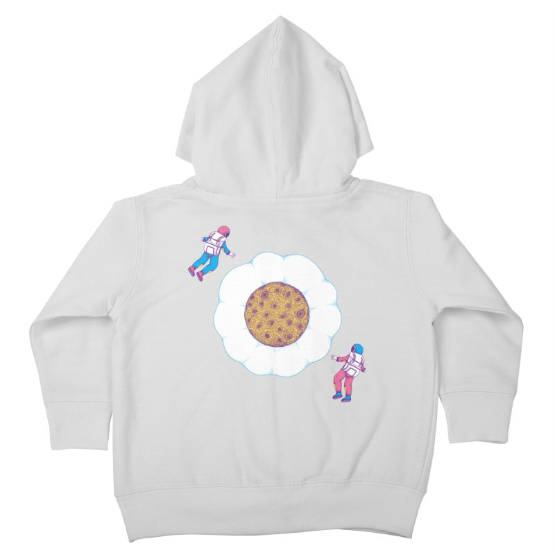 Moon Yolk Kids Toddler Zip-Up Hoody by Ranggasme's Artist Shop