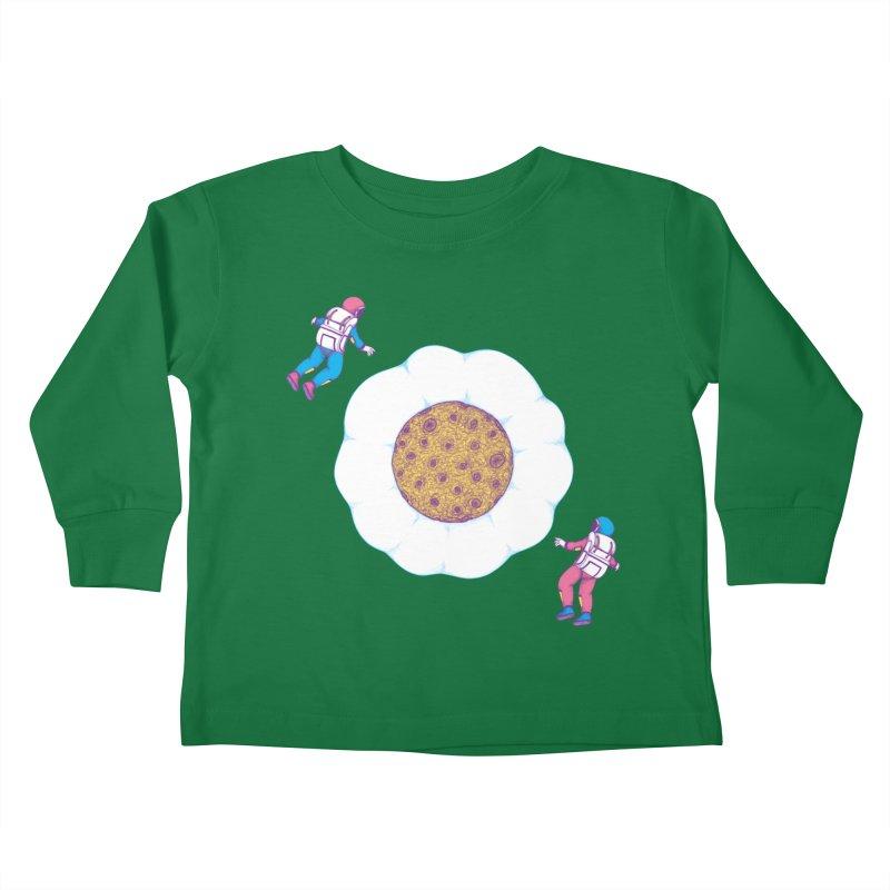 Moon Yolk Kids Toddler Longsleeve T-Shirt by Ranggasme's Artist Shop