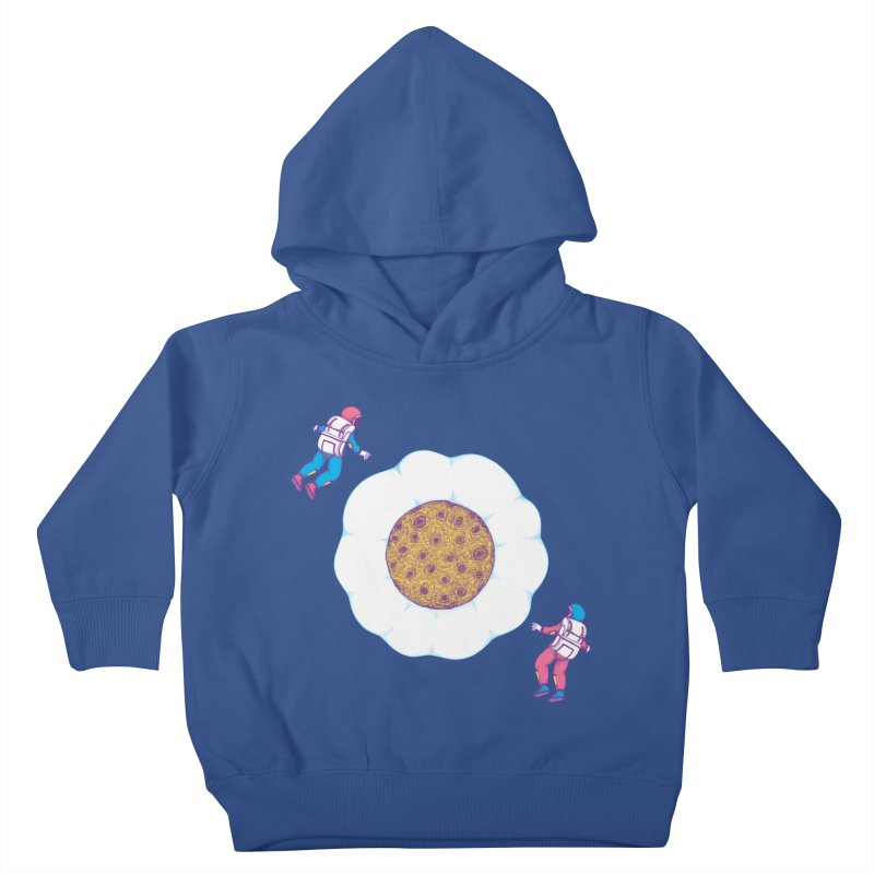 Moon Yolk Kids Toddler Pullover Hoody by Ranggasme's Artist Shop
