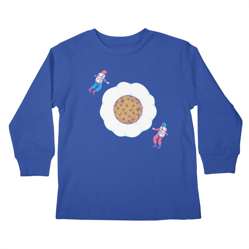 Moon Yolk Kids Longsleeve T-Shirt by Ranggasme's Artist Shop