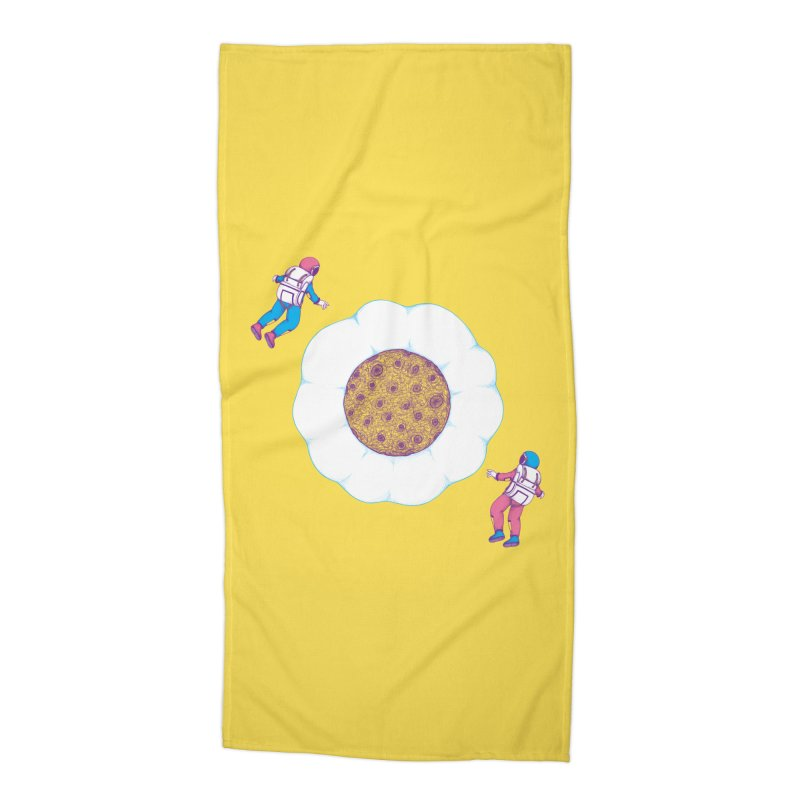 Moon Yolk Accessories Beach Towel by Ranggasme's Artist Shop