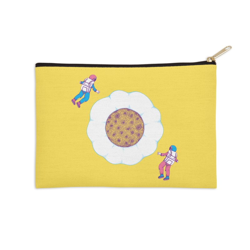 Moon Yolk Accessories Zip Pouch by Ranggasme's Artist Shop