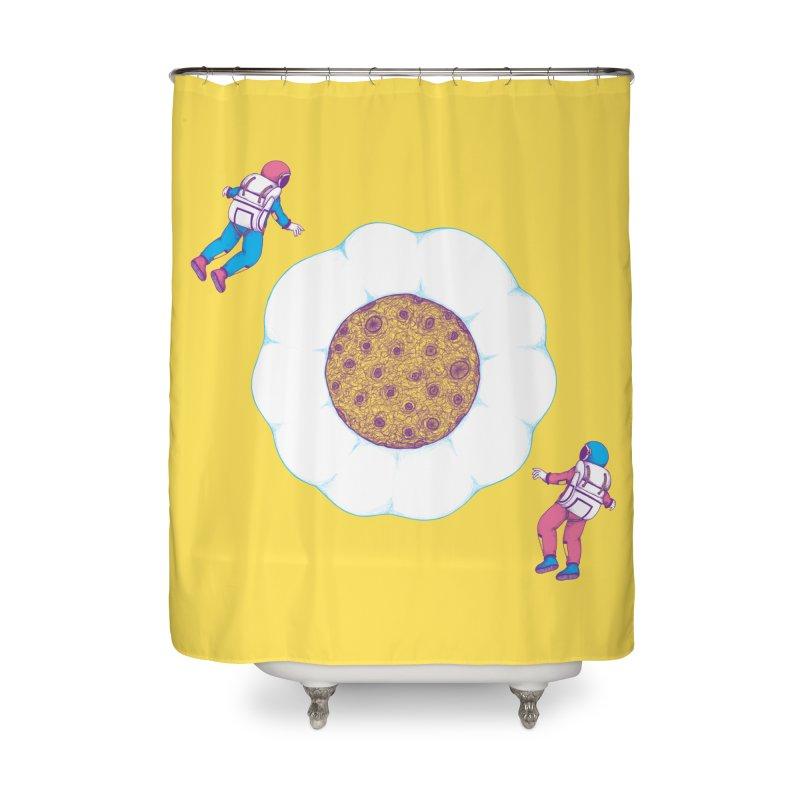 Moon Yolk Home Shower Curtain by Ranggasme's Artist Shop