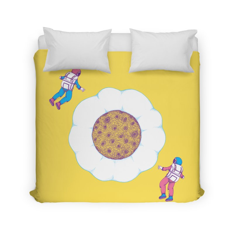 Moon Yolk Home Duvet by Ranggasme's Artist Shop
